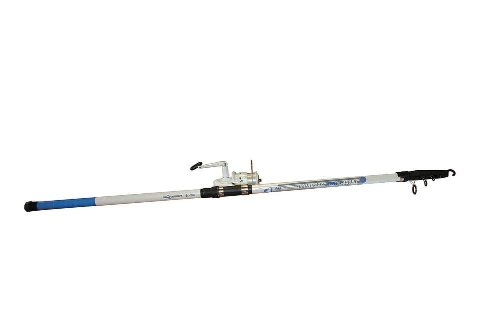 Ensemble pêche surfcasting canne 4,20m + moulinet 651 FD SERT