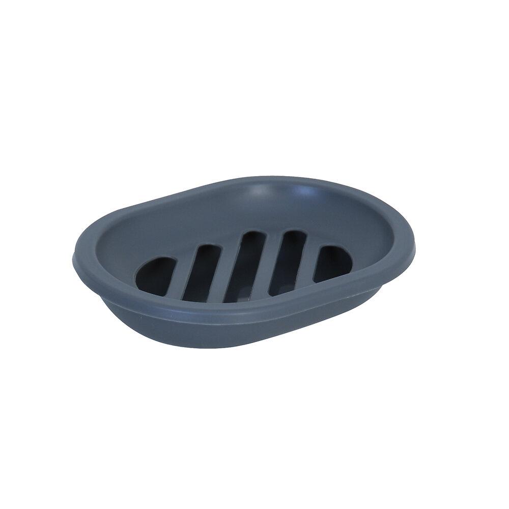 Porte-savon gris, polypropylène