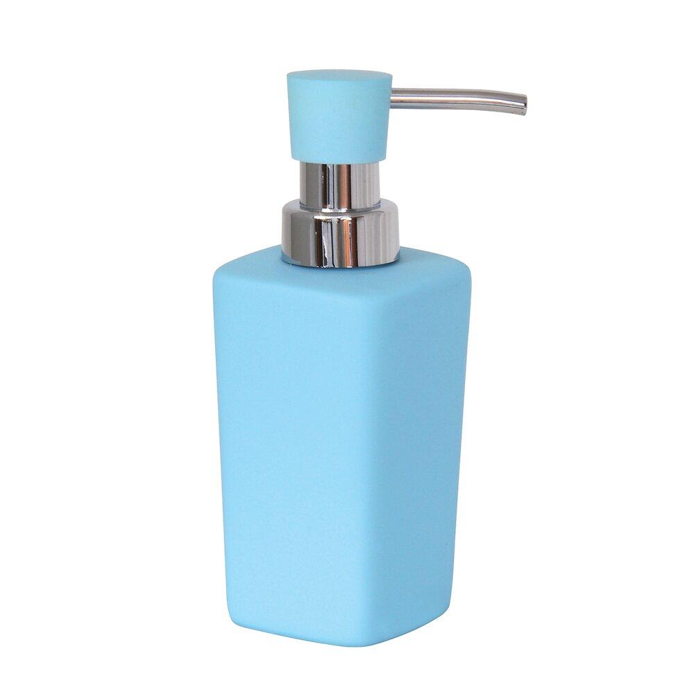 Distributeur de savon Haïti bleu clair 240ml, céramique