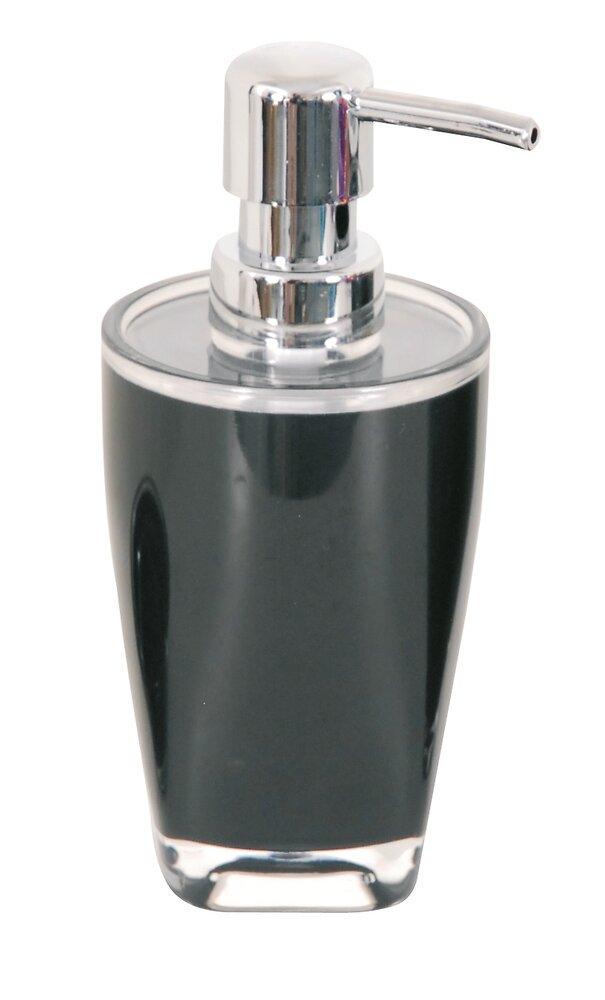 Distributeur de savon Tahiti Noir 240ml, acrylique
