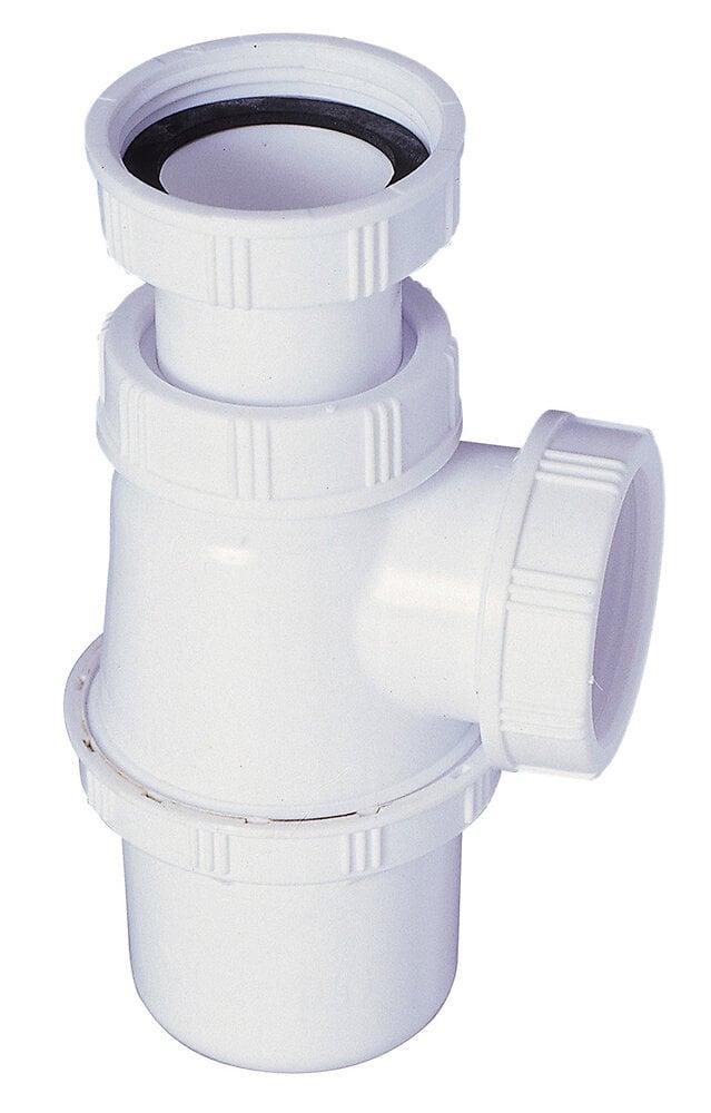 Siphon pour évier plastique réglable S