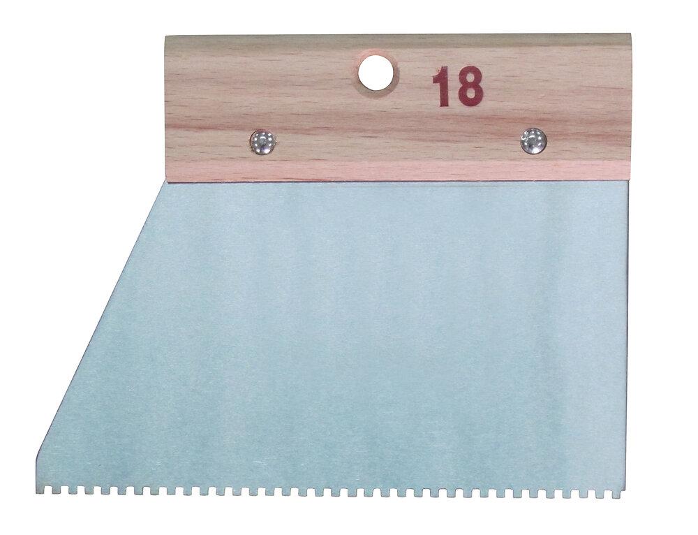 Couteau à colle à denture carré 2,5 x 2,5 cm