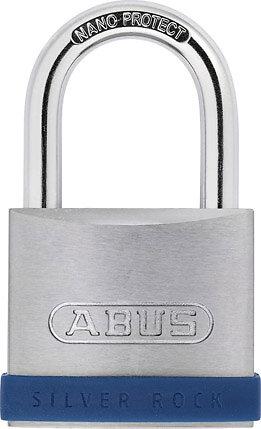 Cadenas à clé Silver Rock Série 5 55mm, 2 clés
