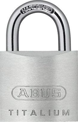 Cadenas à clé Titalium 726-30mm, 3 clés