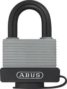 Cadenas à clé 717-45mm aluminium gaine, 2 clés