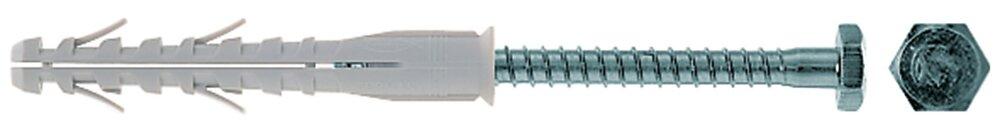 Cheville FISCHER SHR SS rallongée nylon 12 mm x 130 mm sachet de 4