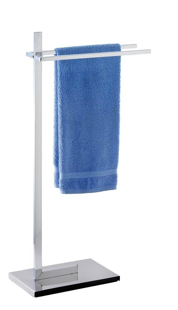 Porte-serviettes WENKO Quadro chromé 2 bras fixes