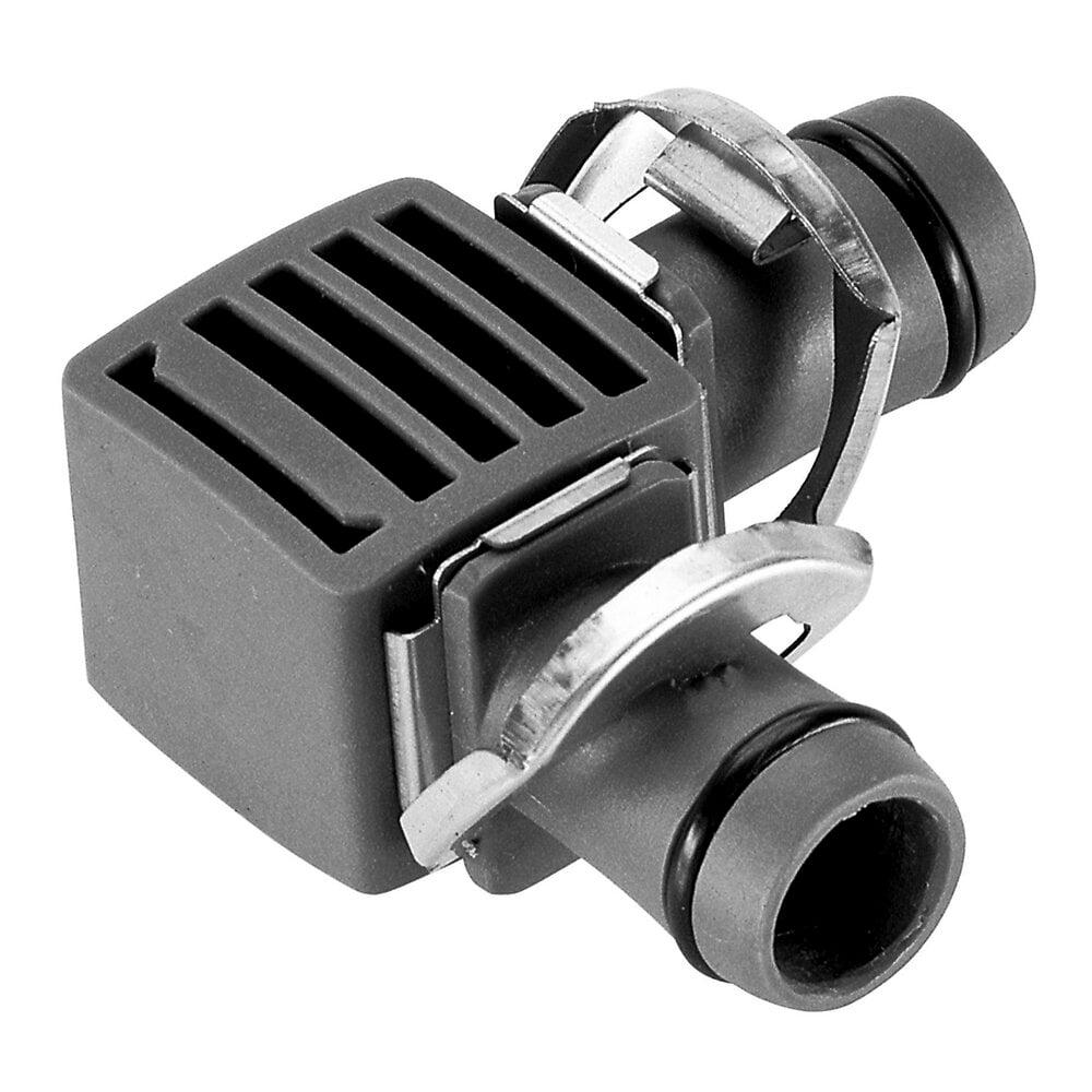 Jonction en L 13mm micro drip