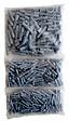 Sachet de 400 chevilles polypropylène diamètre 4/6/8 mm GO/ON