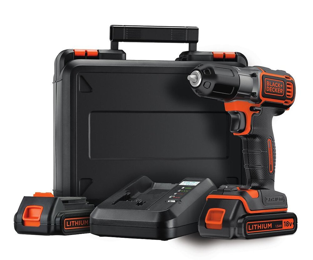 Perceuse sans fil 18V Lithium Autosense Black&Decker