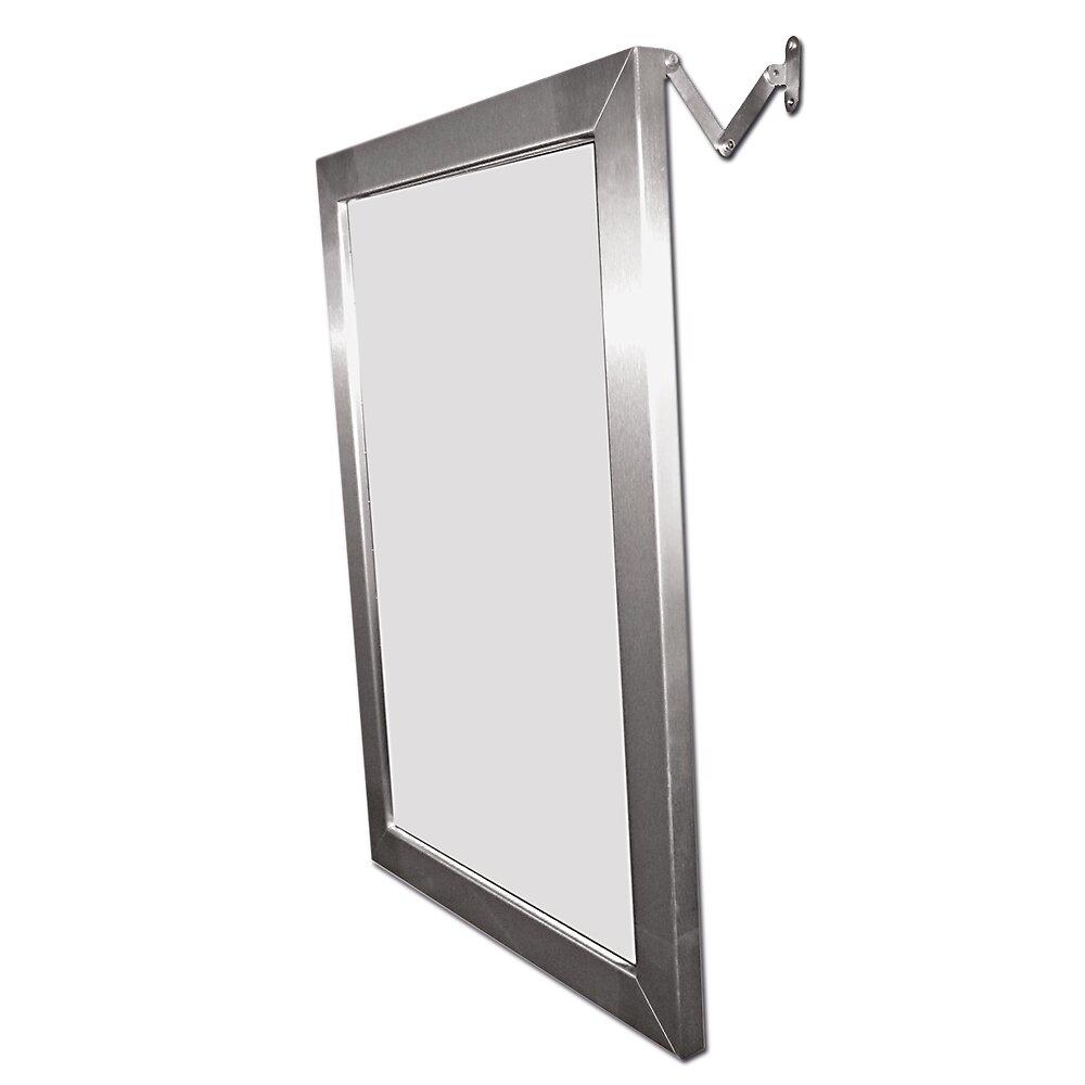 Miroir inclinable en inox 70x50cm DLP