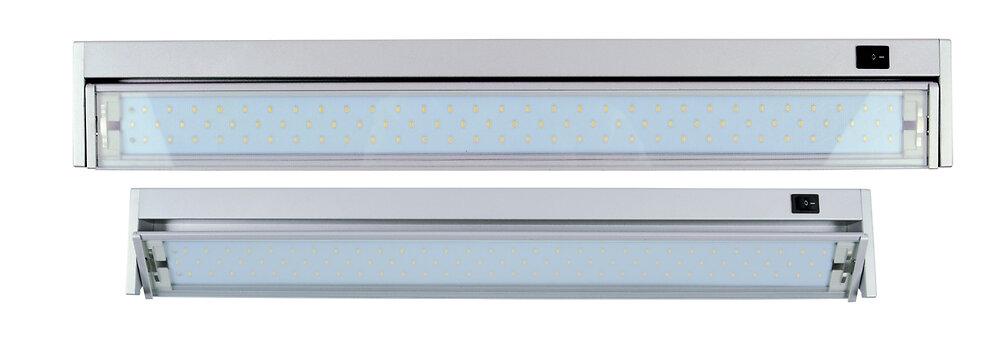 Réglette cuisine 90 LED aluminium brossé