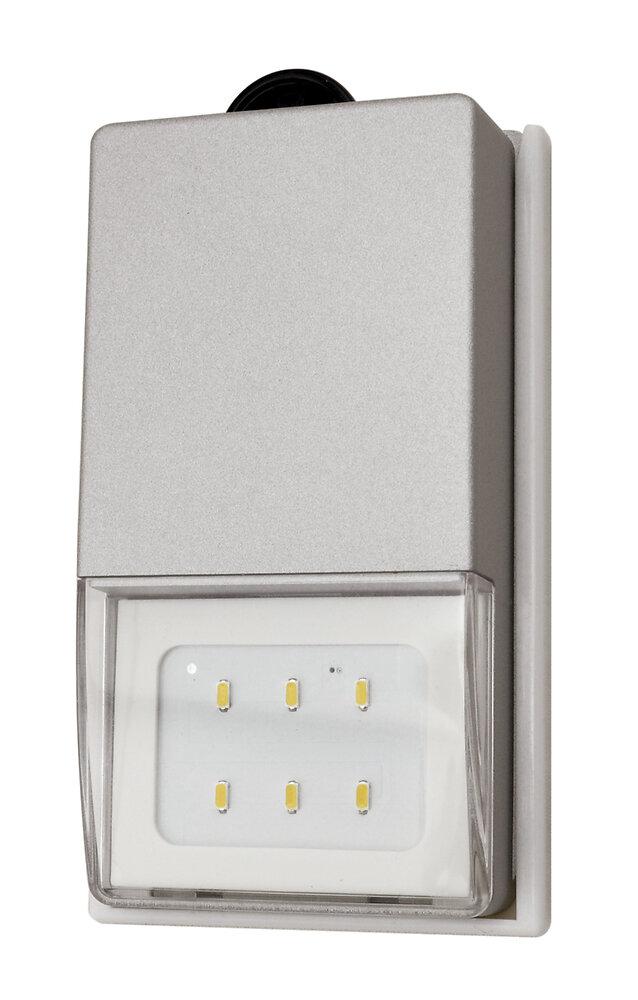 Module eclairage placard avec detecteur led 0.33w titane