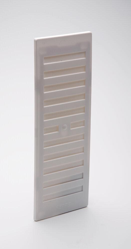 Grille d'aération ABS à visser entrée d'air réglable 9,1cm x19,3