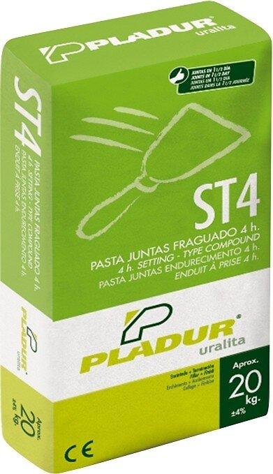 Enduit en poudre pour plaque de plâtre ST4 PLADUR 20 kg
