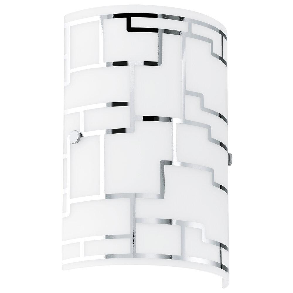 Applique ''Bayman'' E14 1x42W blanc/chrome