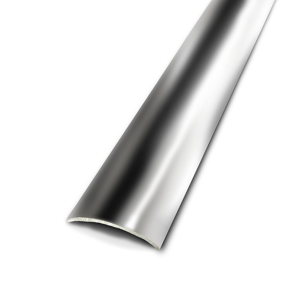 Seuil 1er prix adhésof inox 30mm/73cm