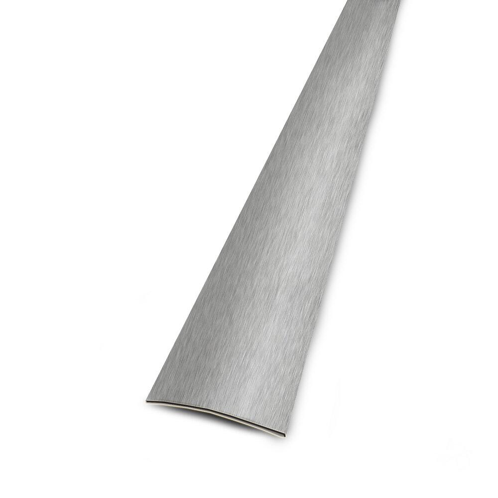 Seuil plat adhésif inox 30mm/166cm