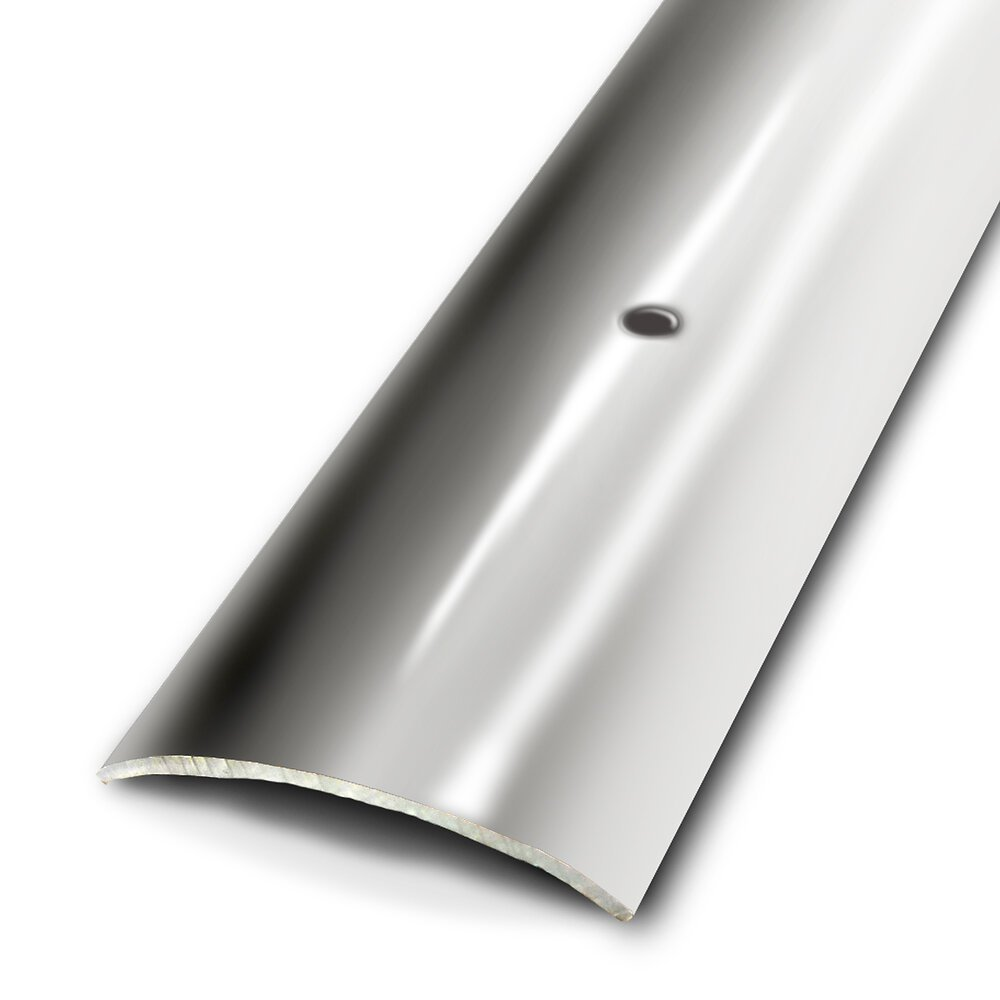 Seuil plat à visser inox 45mm/93cm