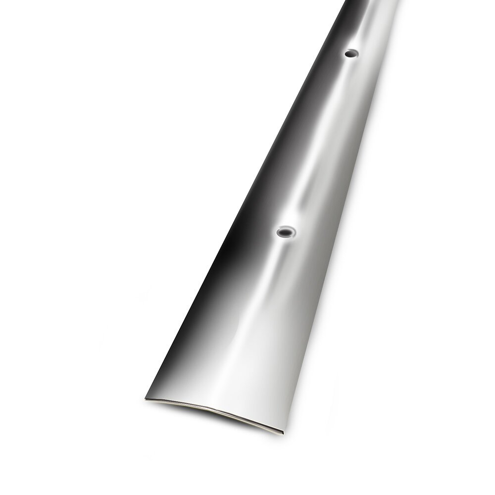 Seuil plat à visser inox 30mm/83cm