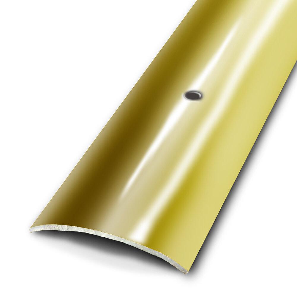 Seuil plat à viser aspect laiton 45mm/93cm