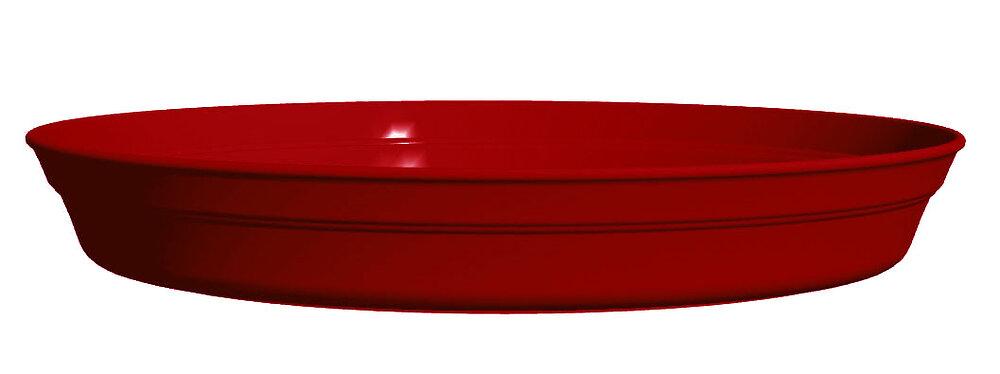 Soucoupe pot rond Roméo 21 rouge