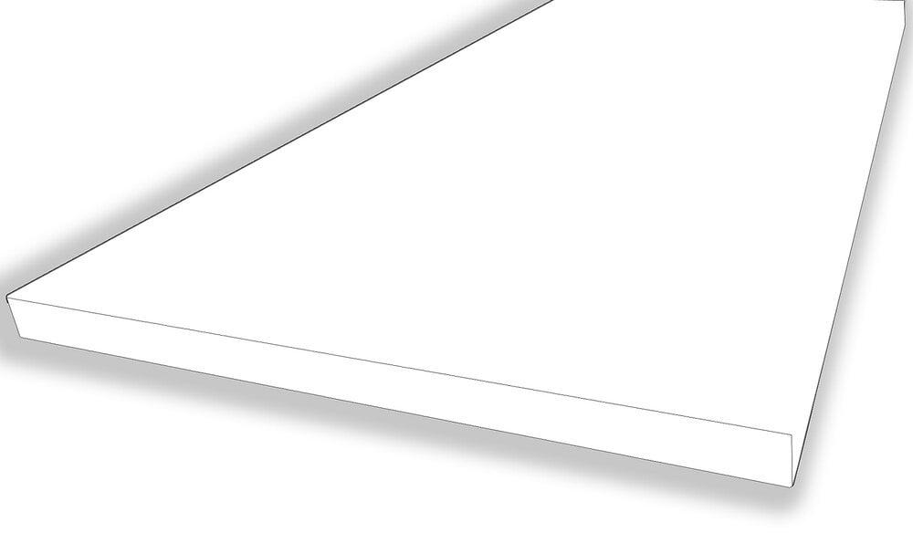 Plan de travail CPL 4 chants Blanc 1200x640x28mm