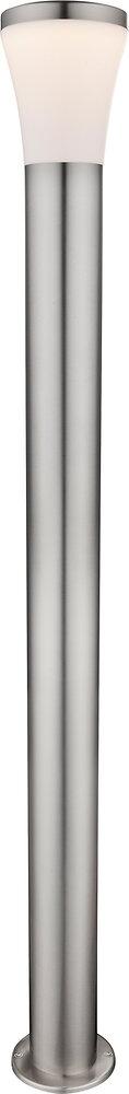 Luminaire extérieur Alido en inox PVC opal l.12xh.110cm