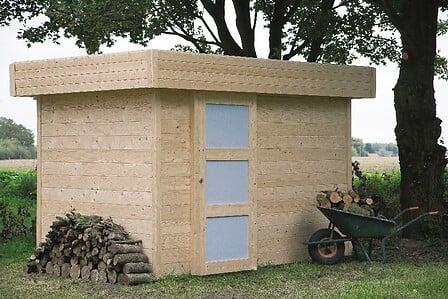 Abri de jardin en bois 28 mm 301 x 201 cm OSLO