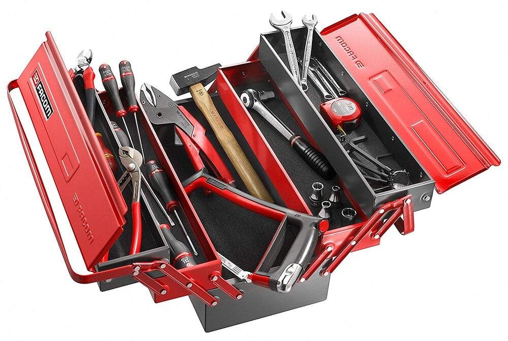 Boîte à outils 5 cases