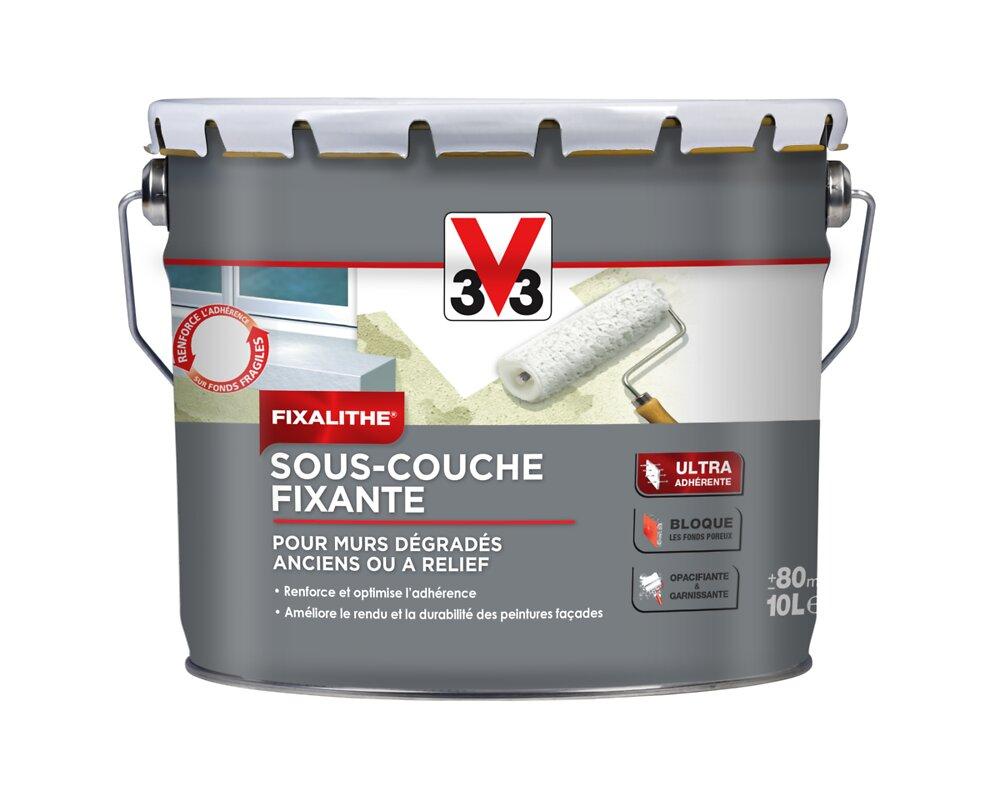 Sous-couche fixante Façade Blanc Pot 10l