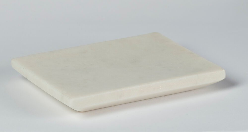 Porte-savon Marbre blanc