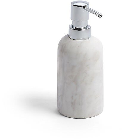 Distributeur de savon liquide Marbre coloris blanc