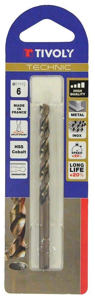 Foret métal Technic HSS cobalt diamètre 2.5mm