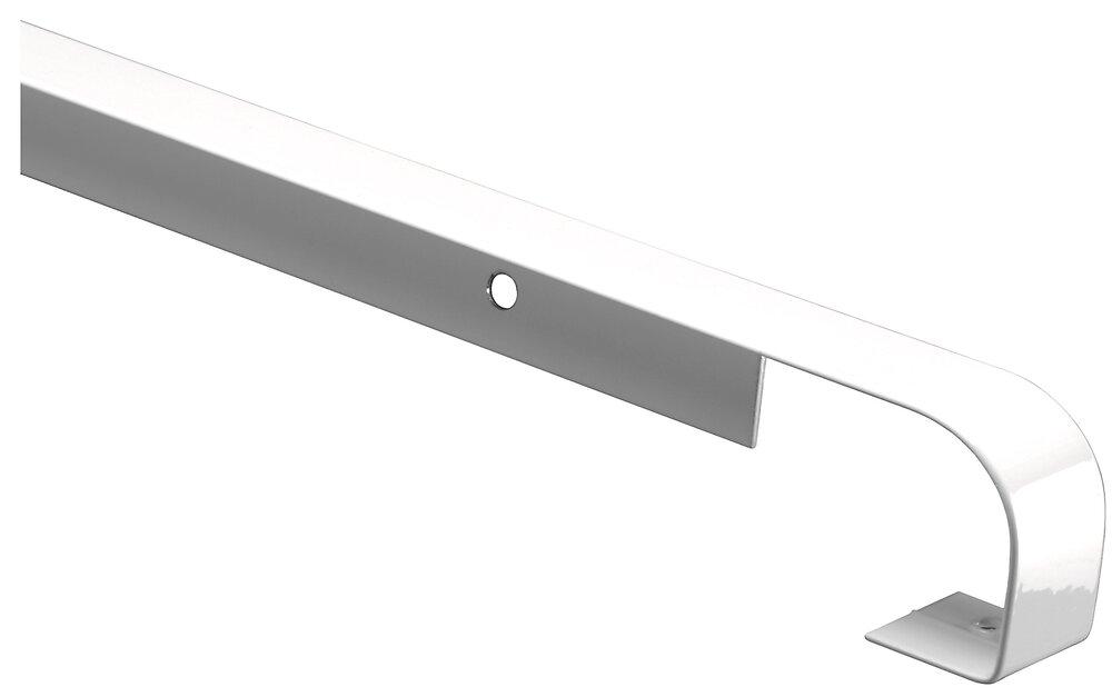 Profilalu jonction droite rayon 3-5 Ep.28xL.670mm blanc