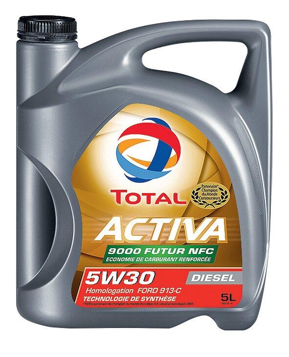 Huile Activa 9000 FUTUR NFC 5W30 Diesel 5L TOTAL