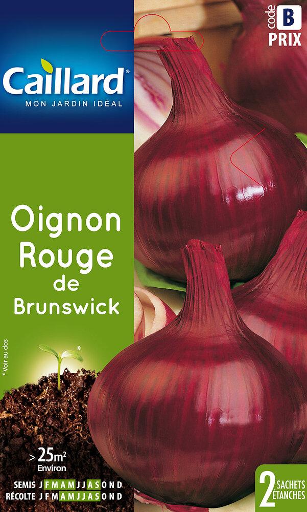 Oignon rouge de Brunswick