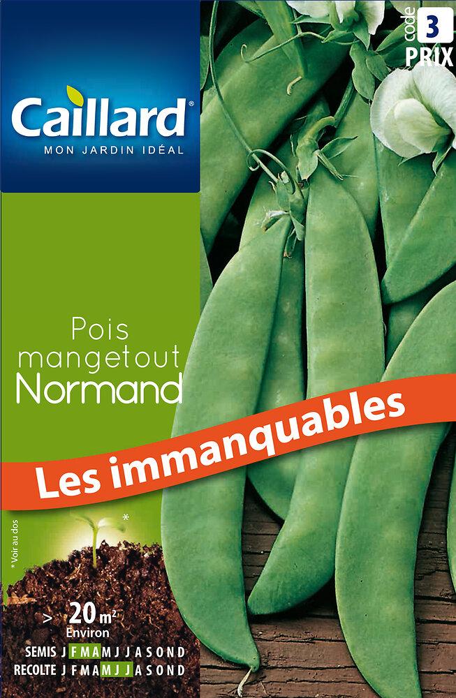Pois Mangetout Normand 200G
