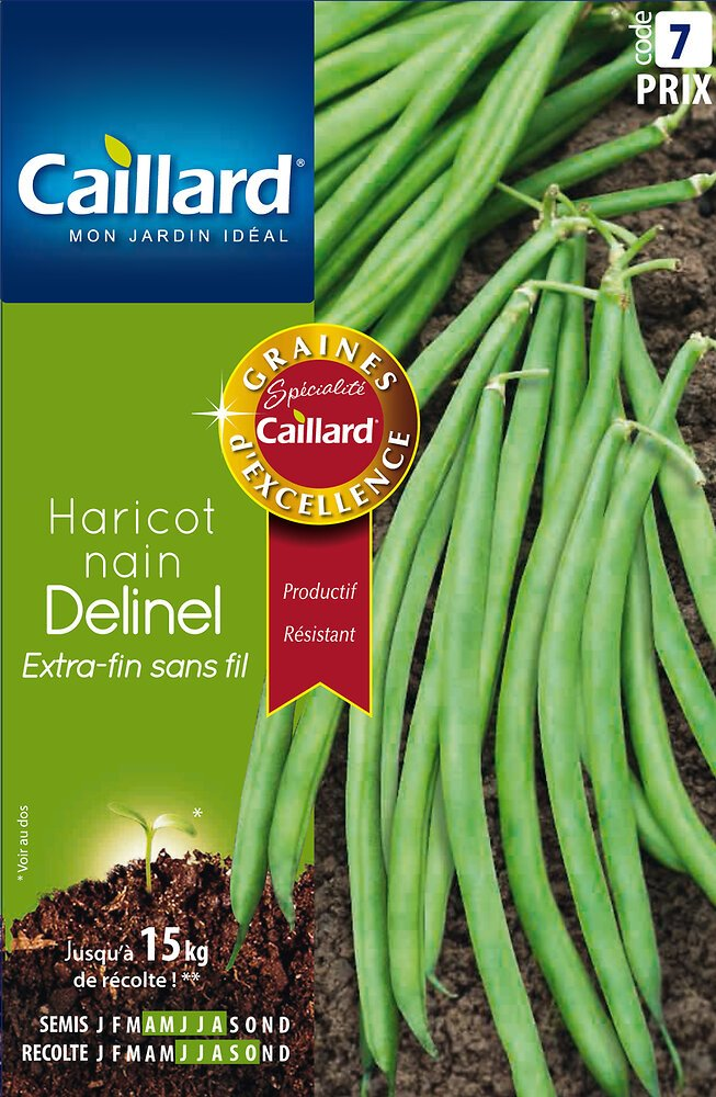 Haricot delinel 200G