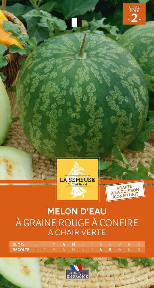Melon d'eau à confire à chair verte