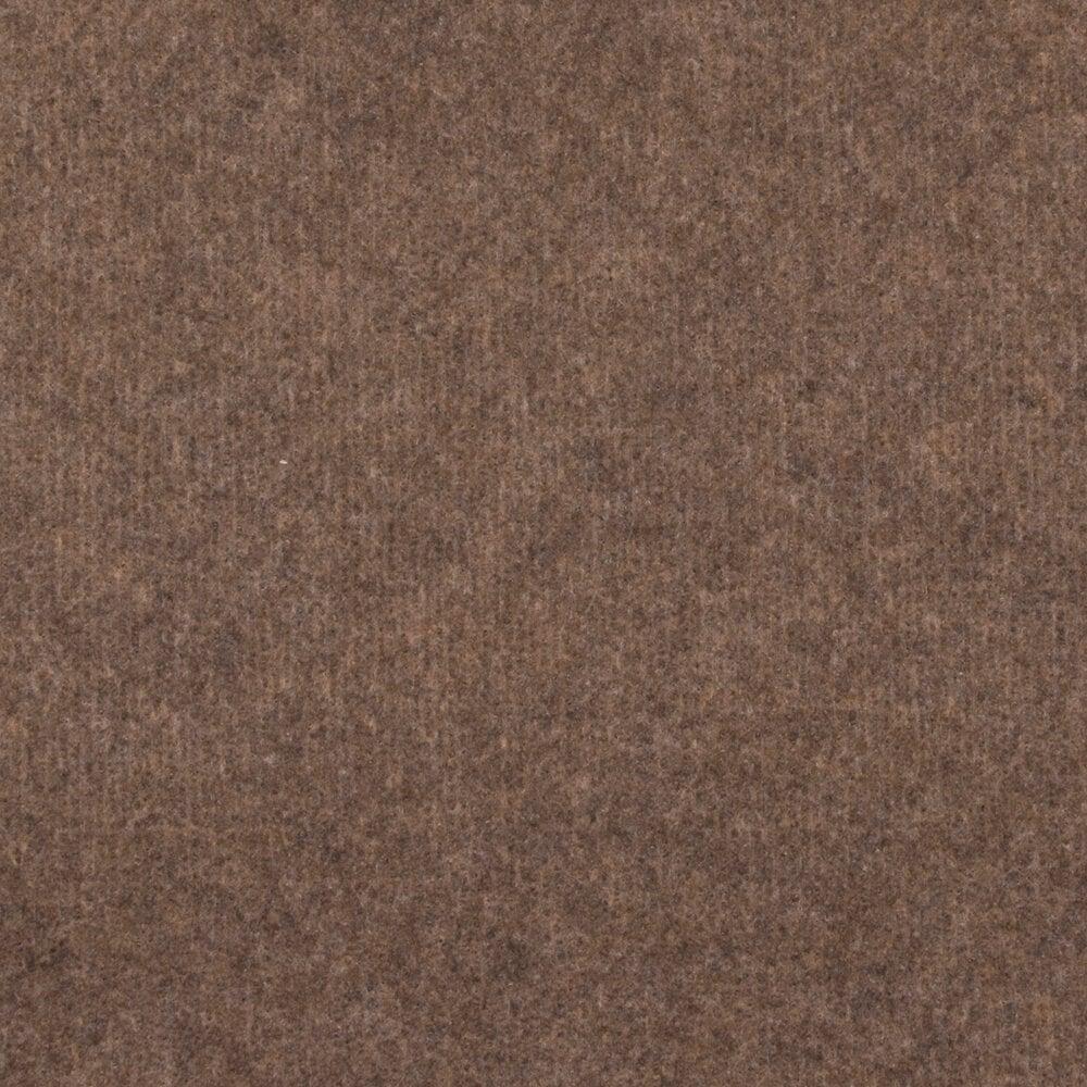 Moquette Malta côtelée en aiguilleté brun en rouleau