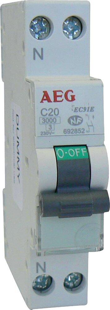Disjoncteur Phase + Neutre 20 A