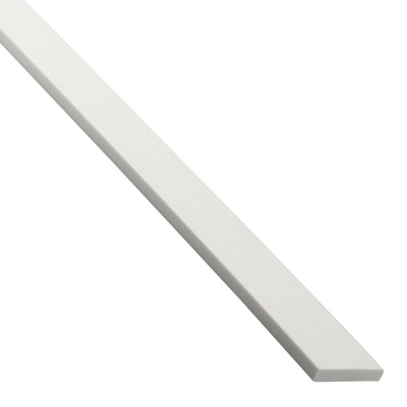 Champlat PVC blanc 2x30mm L.2.60m