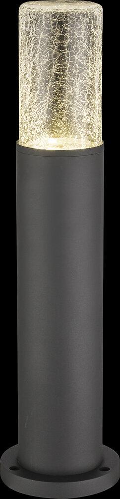 Luminaire extérieur Nina aluminium fonte anthracite d.12.5x50cm