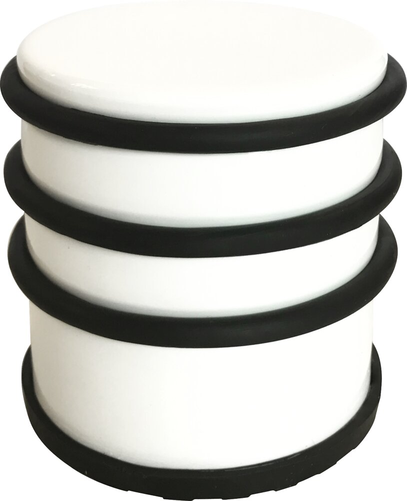 Bloque Porte  blanc Laqué. 1,2Kg