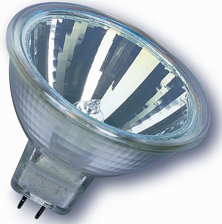 Ampoule halogène dichroïque 25W 12V GU5.3 OSRAM