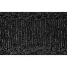 Adhésif décoratif Reptile noir mini-rouleau 45x200cm