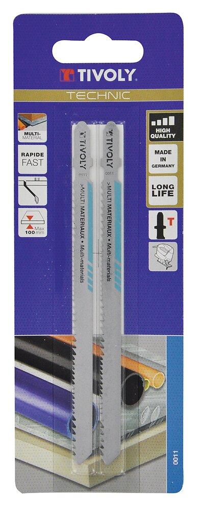 Lame scie sabre multimatériaux Longueur 132mm