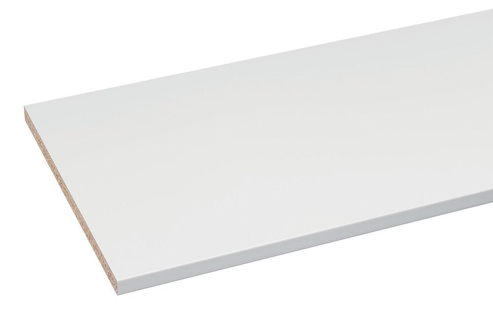 Plan de travail postformé 1800x600x28mm Blanc