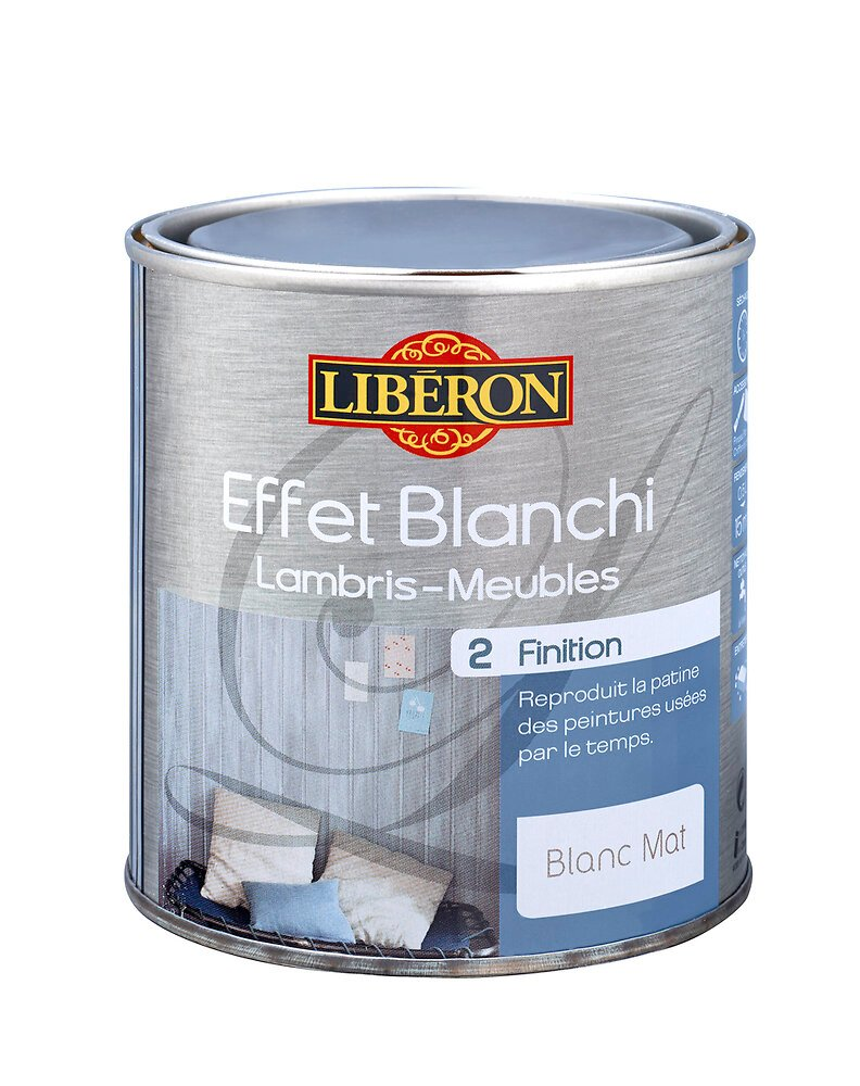 Effet Blanchi Finition Blanc 0.5L